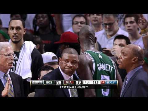 Emotional exit for Celtics BIG 3 in game 7