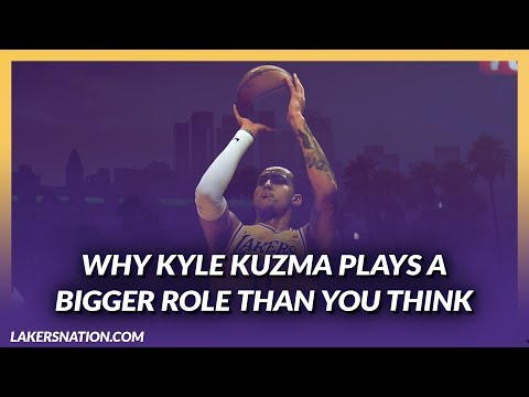 Video: Lakers News Feed: Kyle Kuzma Plays A Bigger Role Than You Think