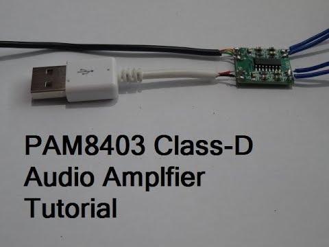 PAM8403 Class-D Audio Amplifier | How To Make Audio Amplifier Using PAM8403 | 6 Watts Of Power | DIY