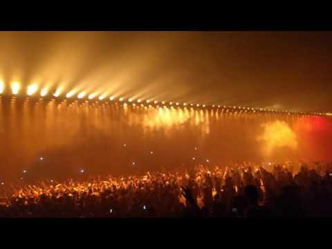 Kanye West Floating Light Show