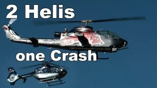 Worlds Largest RC Heli - Red Bull Cobra, EC135 Autorotation Crashlanding
