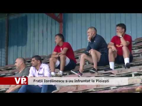 Frații Iordănescu s-au înfruntat la Ploiești