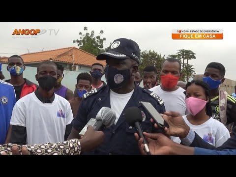 Polícia e munícipes do Cazenga juntam-se para combater delinquência