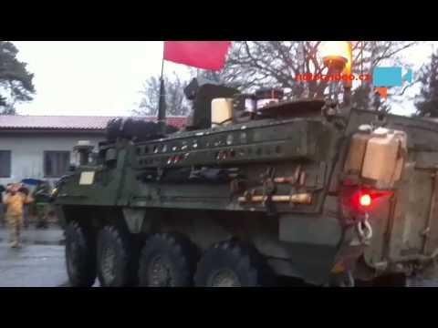 Jizda dragounů -Pardubice -  nadšení jako při osvobození Československa
