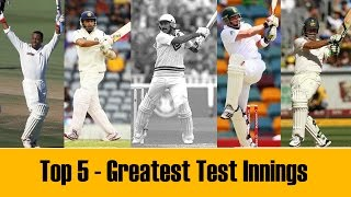 Video Top 5 - Greatest Test cricket Innings in the last 25 years MP3, 3GP, MP4, WEBM, AVI, FLV Agustus 2018