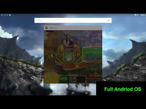 Nvidia Shield Android TV running FULL Android OS