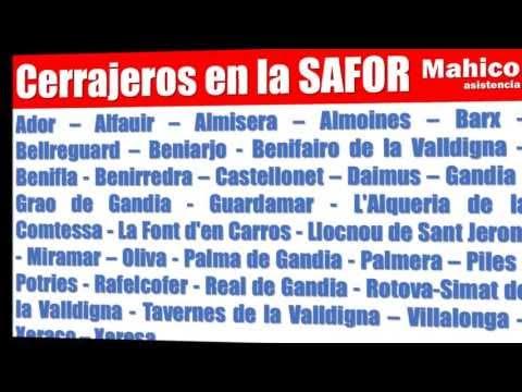 CERRAJEROS GANDIA-LA SAFOR 24 HORAS 647.333.941