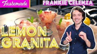 Lemon Granita (Italian Slurpee) | Frankie Celenza by Tastemade