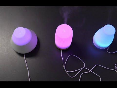 Aroma Diffuser - Luftbefeuchter Ultraschall - 3 Stück im Vergleich