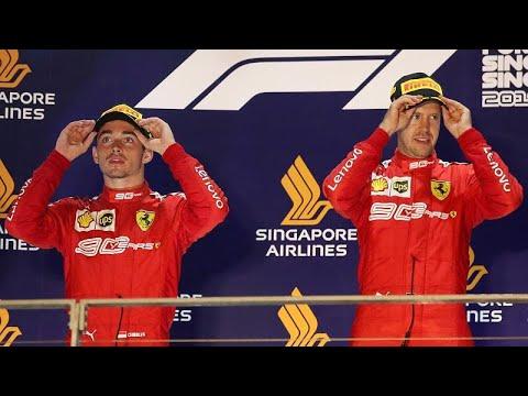 F1 Σιγκαπούρη: Σάρωσε η Ferrari – Επέστρεψε ο Φέτελ