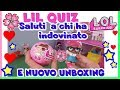 LIL SISTER QUIZ!! CHI HA VINTO I SALUTI e NUOVO Unboxing Lol surprise By Lara e Barbara
