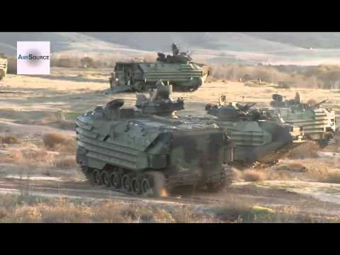 US Marines Amphibious Landing - Exercise Steel Knight 2013. Part 1 of 2