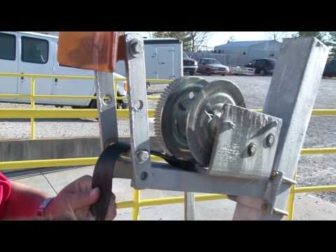Trailer Winch Strap Replacement