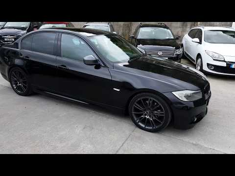 Ed's car sales Fermoy. Bmw 320d M-Sport. Sapphire black metallic.