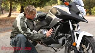 9. 2012 Honda NC700X vs. Kawasaki Versys