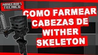 """Granja de cabezas de Wither Skeleton, parecia imposible hasta que lo hicimos en la serie, una granja muy dificil de hacer pero que vale la pena!!! ┌ SUSCRIBETE PARA MAS ┐►►► CLIC AQUÍ: http://goo.gl/BEXQZh└──────────────────────────────┌ Redes Sociales ┐►Twitter: http://goo.gl/Lxcl8j►Facebook: http://goo.gl/tJwaZz└──────────────────────┌ Sígueme en Twitch ┐►Twitch: http:/http://goo.gl/ZjexJS└──────────────────────┌ Te Gusto el vídeo? Déjame tu LIKE Y FAV! ┐► Si le das a """"Me Gusta y Favoritos"""" ayudas a que este canal siga creciendo, si te gusta el canal deja tu apoyo en cada vídeo.Se parte de la comunidad de Miguel Gamer└──────────────────────────────┌ TE DEJO MI SEGUNDA CANAL ┐Conocelo, te lo recomiendo, si te gusta este canal el otro te va a dejar alucinando :) ►►► CLIC AQUÍ: http://goo.gl/c2YwXk└──────────────────────────────►►► ESTO ES UNA COMUNIDAD DE GAMERSi te gustan los vídeo juegos tanto como nosotros, te invito a que te unas a esta comunidad, somos fanáticos de la vida gamer y si tu quieres unirte a esta comunidad te invito a que ahora hagas CLIC AQUÍ: http://goo.gl/BEXQZh"""