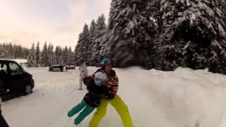 strbske Pleso Slovakia  City new picture : Ski Trip 2015, Slovakia (Strbske Pleso, Tatranska Lomnica, Jasná) with GoPro