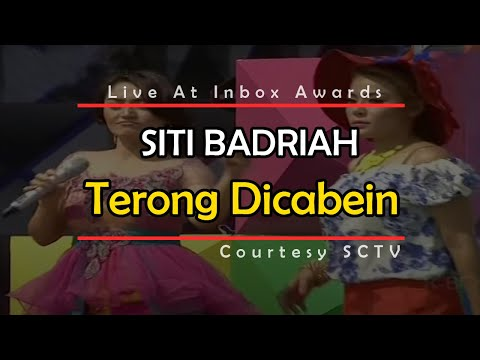 Video SITI BADRIAH [Terong Dicabein] Live At Inbox Awards 2014 (27-09-2014) Courtesy SCTV download in MP3, 3GP, MP4, WEBM, AVI, FLV January 2017