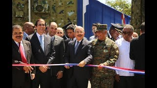 Presidente Danilo entrega Puesto Interagencial de Gestión Coordinada de Frontera, en Elías Piña