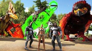 COMIENZA EL APOCALIPSIS!! NUEVA ÉPIC SERIE!! - LocurARK #1 - ARK: Survival Evolved
