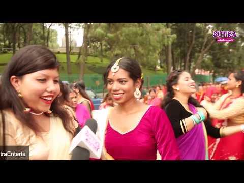 (तीज बिशेष : पशुपतीमा यसरी नाच्दै युवतीहरुको ठुलो भिड | Teej Festival in Pashupati Temple - Duration: 15 minutes.)
