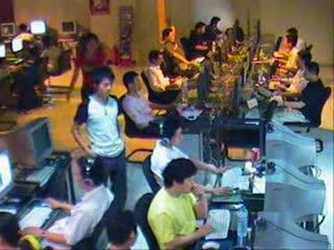 Robo en un café Internet
