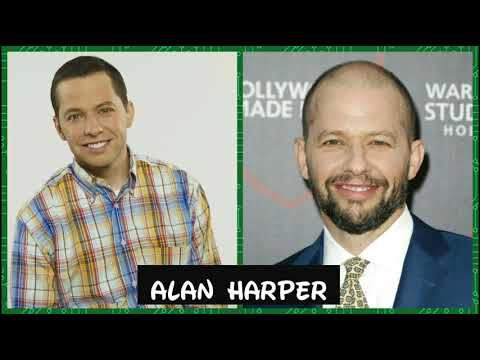 Two and a half men...then and now...2017