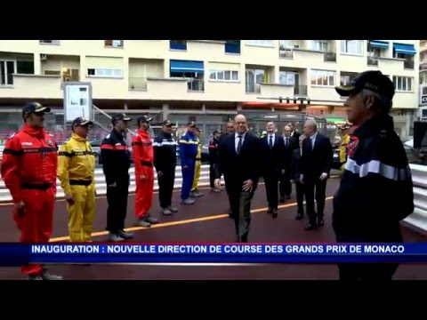 H.S.H. Prince Albert II inaugurates the new race management headquarters