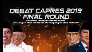 Video FULL! Debat Kelima Capres 2019: FINAL Jokowi-Ma'ruf Vs Prabowo-Sandiaga Uno MP3, 3GP, MP4, WEBM, AVI, FLV April 2019