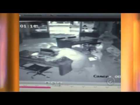 Votuporanga - Com máscara, ladrões são presos em flagrante após furtar joalheria (vídeo)