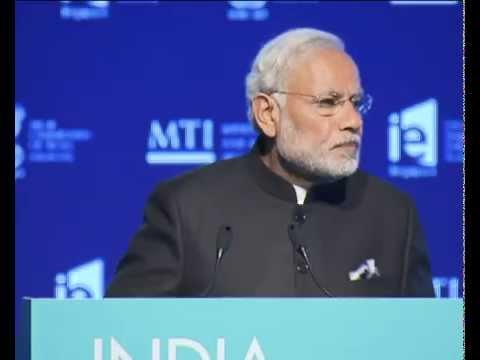 PM Modi at India - Singapore Economic Convention