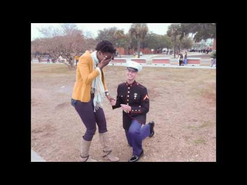 Interracial Marriage Proposal (видео)