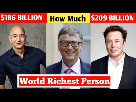 New List of Top 10 Richest Person in the World 2021 | सबसे अमीर कौन है ? | Elon Musk, Bill Gates