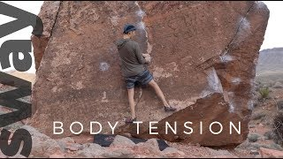 What Is Body Tension In Climbing? | Climb With Sway by  WeDefy