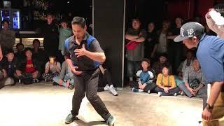 舞踊者 (Hiroki & Chun) vs Takumi & らんきち – WDC 2019 KANTO ELIMINATION 4 STYLE 2on2 POP FINAL