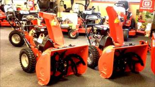 4. Ariens Deluxe 28 & 28 SHO Snow Blower