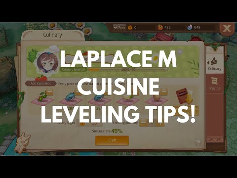 LAPLACE M | CULINARY LEVELING TIPS!