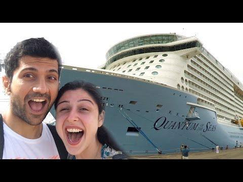 Summer Cruise Vlog    Part 1    Kochi To Singapore!!!!