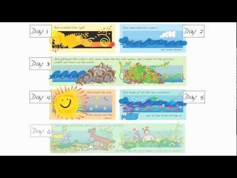 Creation Story For Kids Creation For Kids Genesis 1