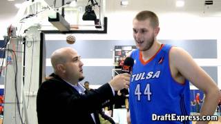 DraftExpress Exclusive - Cole Aldrich Interview at the 2011 D-League Showcase