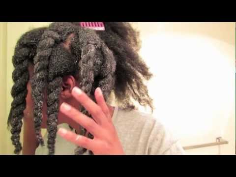 4b - This is my entire wash and protective styling process for length retention. I wash my hair every 4 to 6 weeks. I don't co-wash. I also don't wash my hair whe...