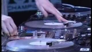 DJ Pfel Skratch Routine