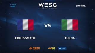 Turna vs exilessmath, game 1