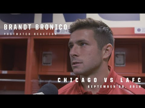 Video: #CHIvLAFC Postmatch Reaction | Brandt Bronico