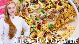 Cranberry Pistachio Pork Casserole by Tatyana's Everyday Food