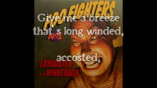 Foo Fighters | Exhausted | Lyrics | HD