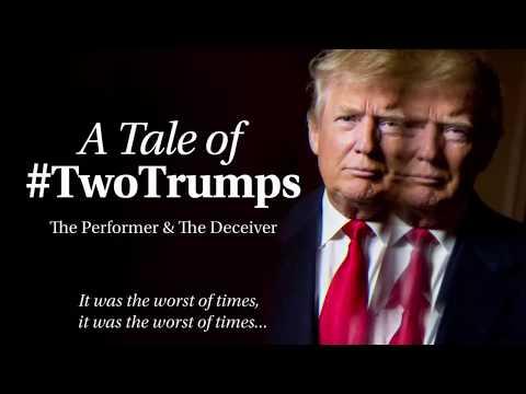 Two Trumps confirmed? Donald says he met Virgin Islands 'president' (видео)