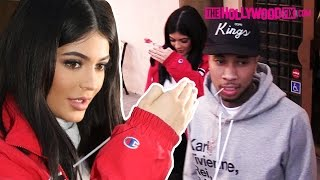 Kylie Jenner & her boyfriend Tyga have dinner at a Korean BBQ restaurant with Jordyn Woods and Justine Skye! Full Story + PICS: http://www.thehollywoodfix.co...
