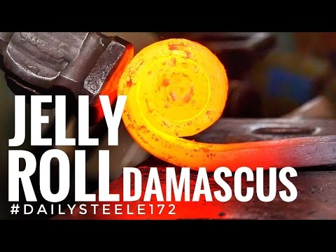 Video JELLY ROLL DAMASCUS STEEL!!! download in MP3, 3GP, MP4, WEBM, AVI, FLV January 2017