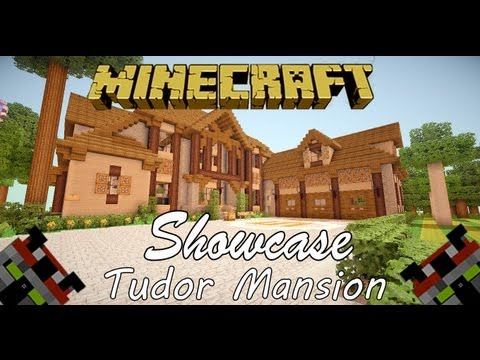 minecraft house tour - Yo Guys Subscribe if you like this house :D Today I bring you a 7 bedroom, 6 1/2 bathroom Tudor Style Mansion built by myself. This is one of the many houses...